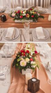 Tischdeko Boho Hochzeit