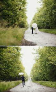 Hochzeit bei Regen Fotos