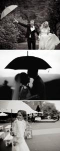 Hochzeitsfotos bei Regen Ideen