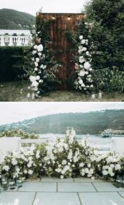 Blumendeko Trauung