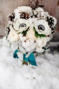 Brautstrauß Winter