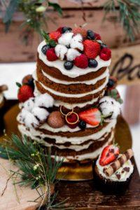 Naked Cake Herbsthochzeit, Hochzeitstorte Herbst