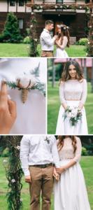 Ideen Herbsthochzeit Brautpaar