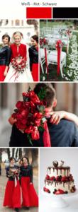 Hochzeitsinspirationen in Rot