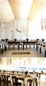 Hochzeitszelt Deko, Zelt Hochzeit Tipps