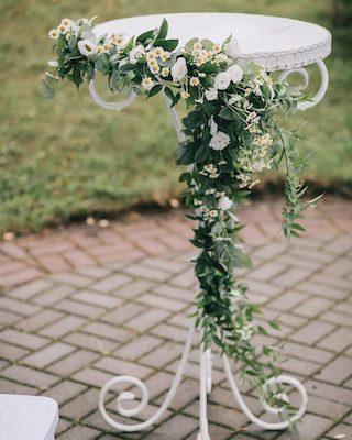 ausgefallene Blumendeko Hochzeit