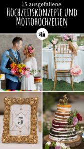 Ideen Hochzeitskonzept