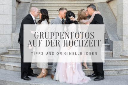 Hochzeit Gruppenfotos Ideen