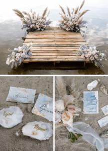 Maritime Hochzeit, Hochzeitsdeko maritim