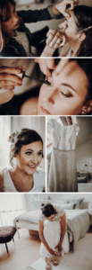 Brautstyling Waldhochzeit