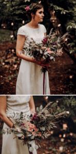 Brautstrauß Waldhochzeit Boho