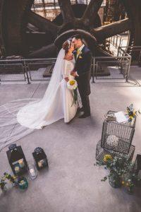 Trauung Hochzeitsdeko minimalistisch