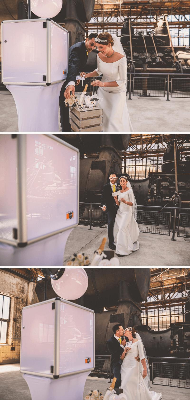 Minimalismus Hochzeit, Industry Style