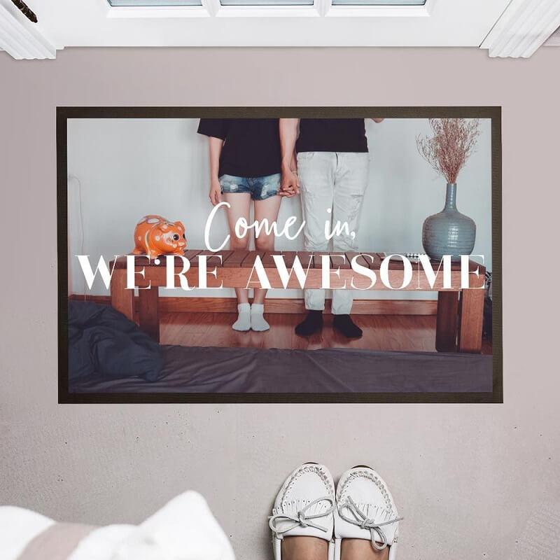 Fußmatte Hochzeitsgeschenk personalisiert