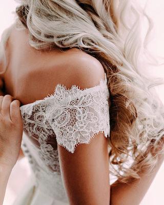 Stoffreste vom Brautkleid Ideen