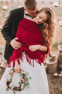 Braut Poncho