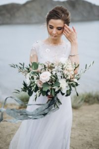 Brautstrauß Schmuck