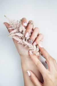 Ideen Brautstyling, Braut Nägel