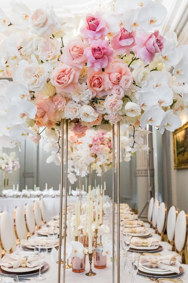 Hochzeit mit Orchideen