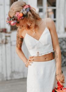 Sommer Boho Braut