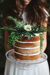Naked Cake Sommerhochzeit