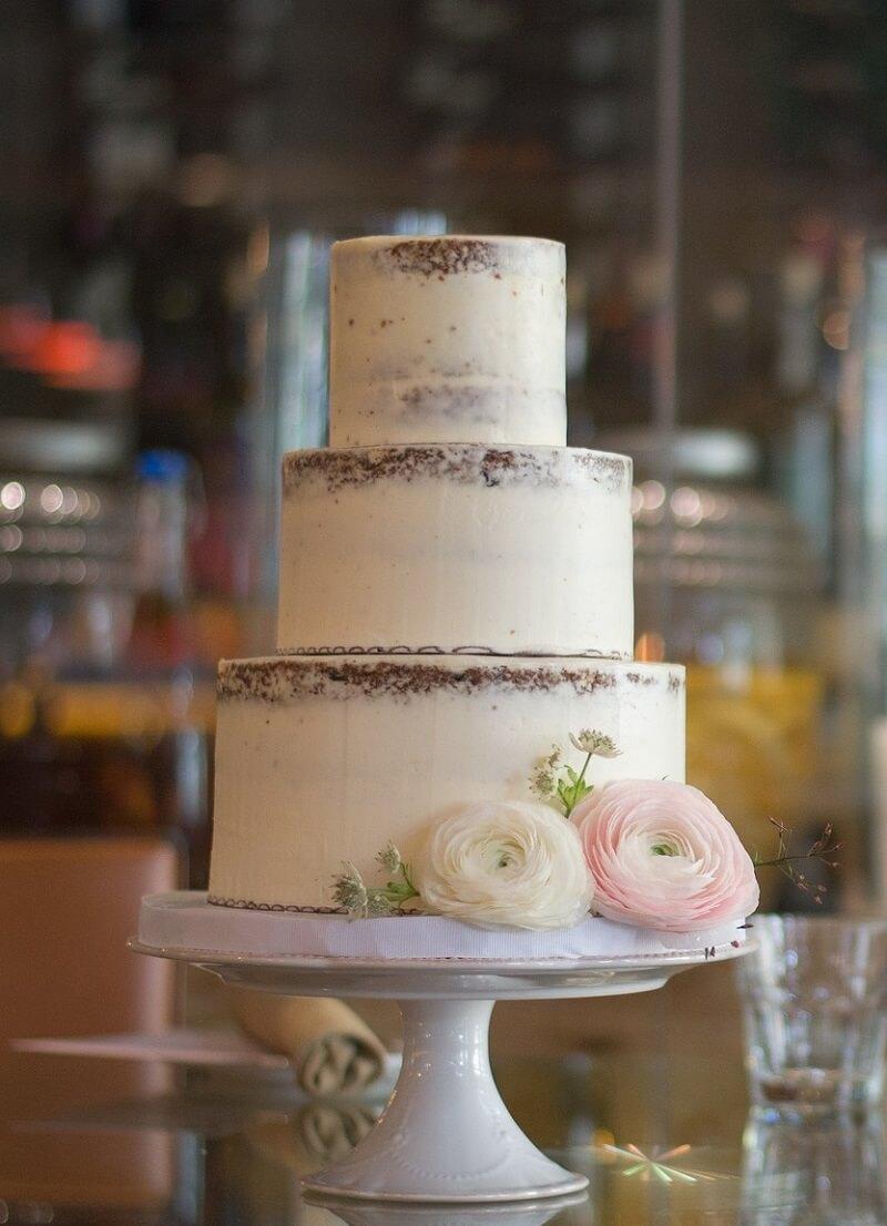 Naked Cake weiß