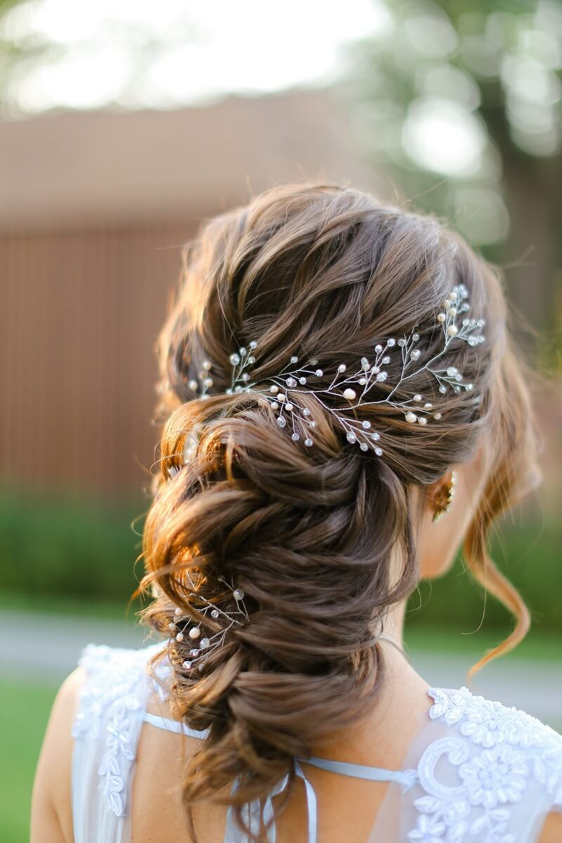 12 stilvolle Ideen für eine Brautfrisur mit Zopf - Hochzeitskiste