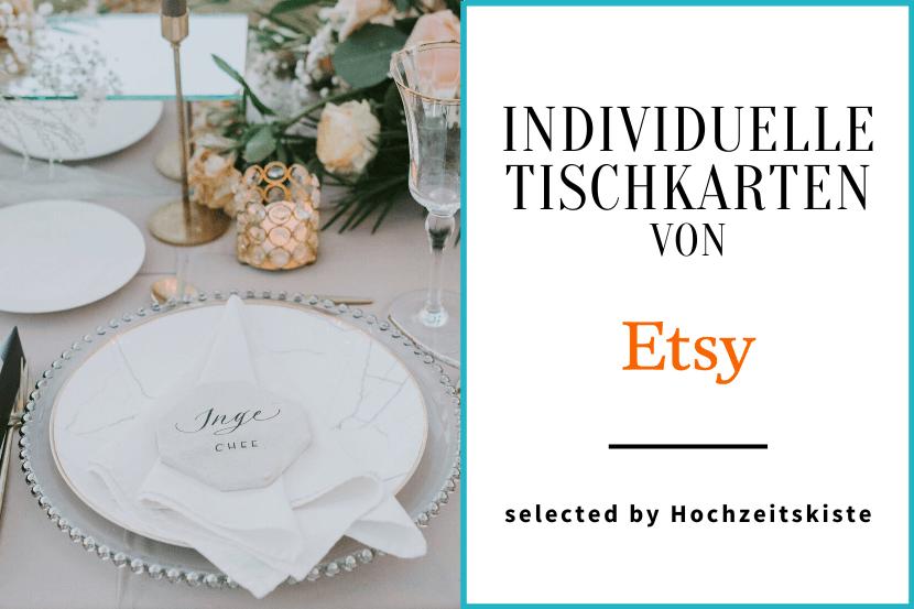 Etsy Tischkarten Ideen Hochzeit