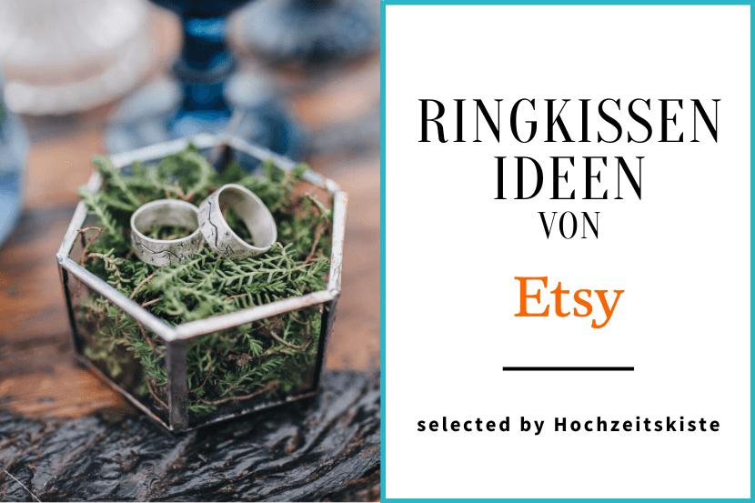 Ringkissen Ideen Etsy