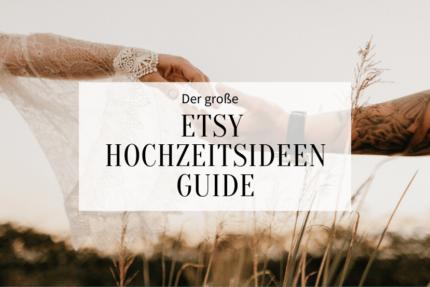 Etsy Hochzeitsideen