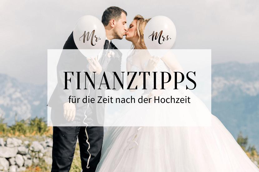 Finanztipps nach der Hochzeit