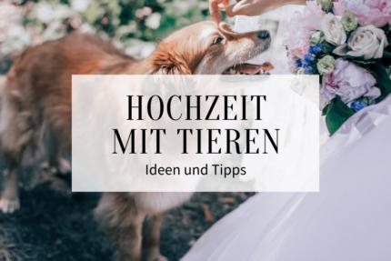 Hochzeit mit Tieren