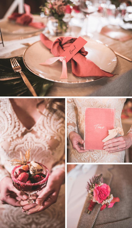 Hochzeit in Koralle