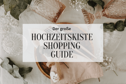 Hochzeits Shopping Guide, Hochzeitsideen online