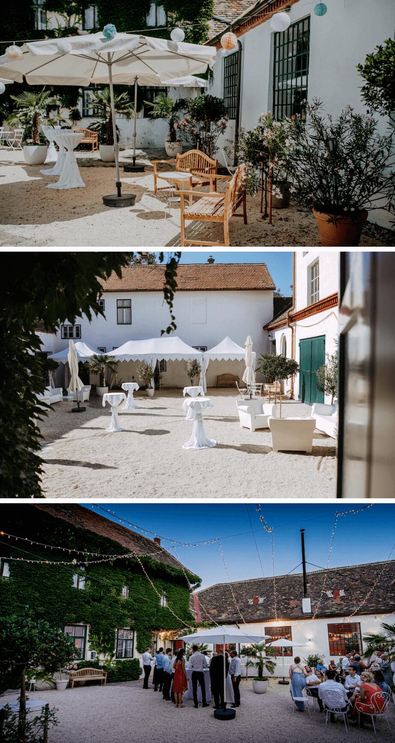 Schmiede am Ravelsbach Niederösterreich, Hochzeitslocation ohne Catering
