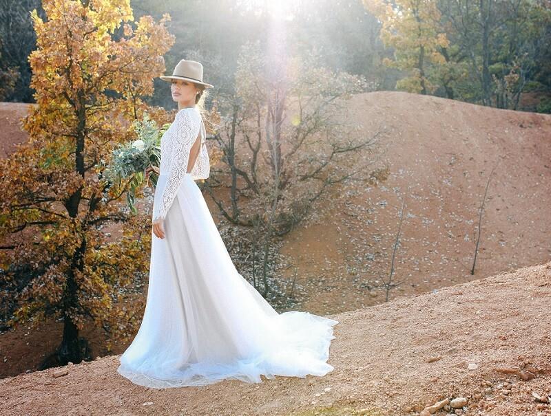 Boho Hochzeitskleider