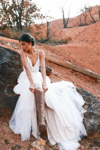 Hochzeitskleider Boho
