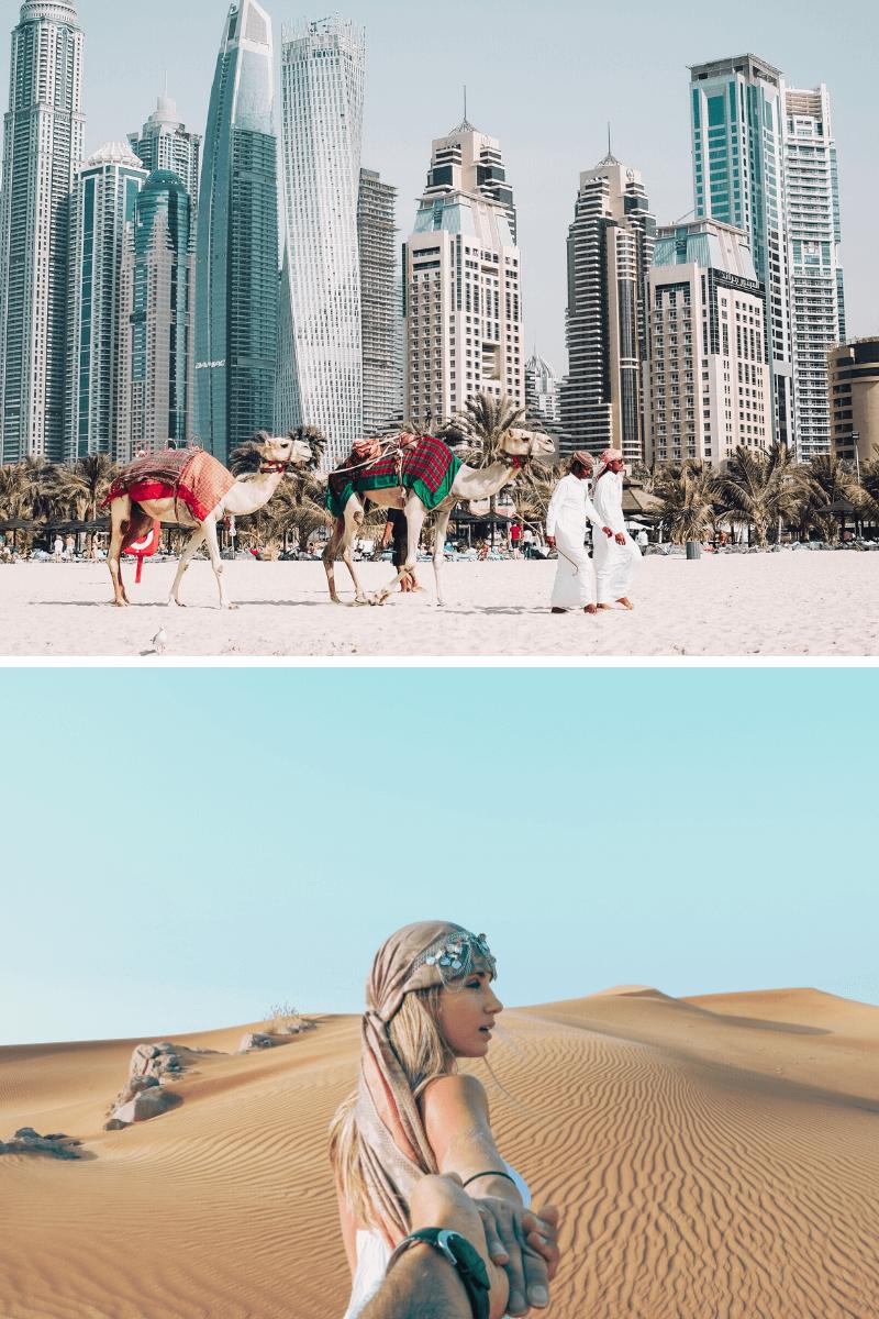 Hochzeitsreise Dubai