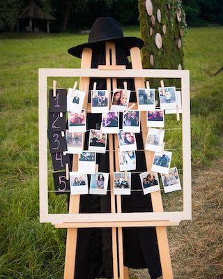 Hochzeit Dekoideen mit Fotos, Sitzplan Hochzeit originell