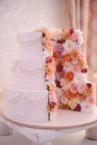 Hochzeitstorte floral