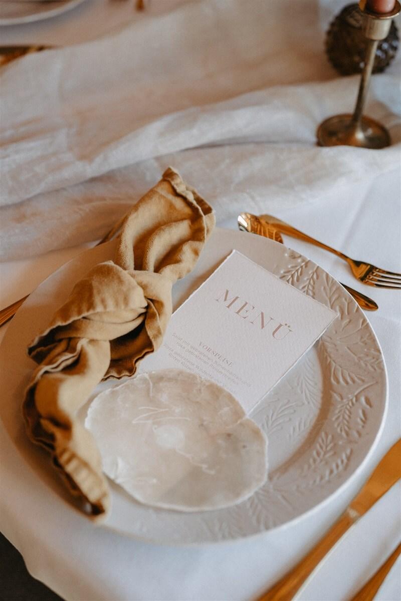 Fine Art Wedding Platzdeko