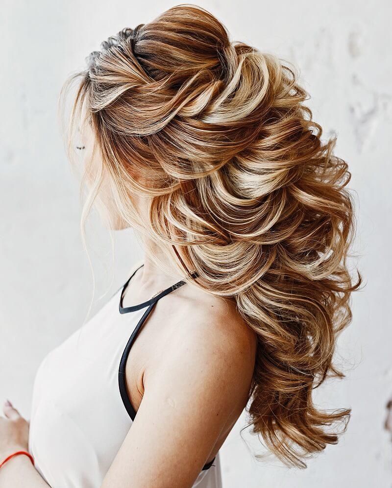 Brautfrisur halboffen für lange Haare – 11 Ideen - Hochzeitskiste