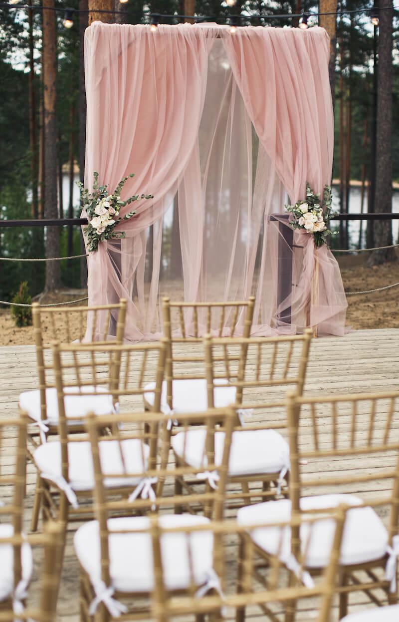 Hochzeitsbogen Blush Wedding