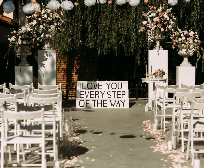 Trauung Hochzeitsdeko Ideen