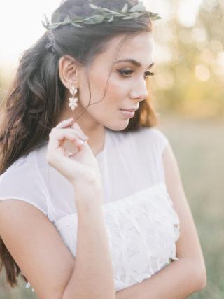 Braut Make-up natürlich mit Eyeliner