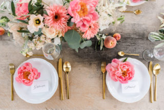 Peach Summer Wedding, Foto: Viola Jagl Photography