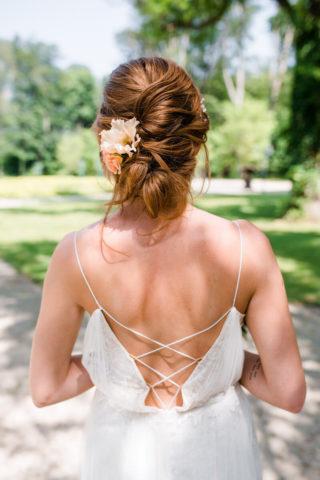 Brautfrisur hochgesteckt, Foto: Viola Jagl Photography