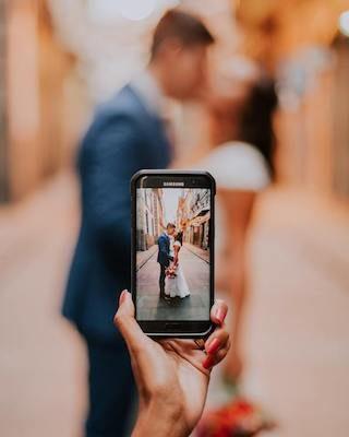 Hochzeitsbilder selbst machen