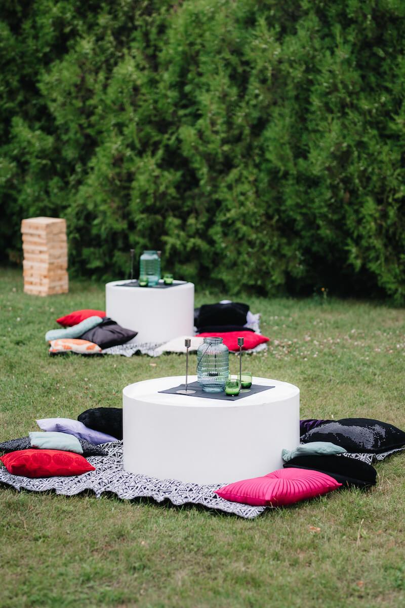 Gartenhochzeit Lounge