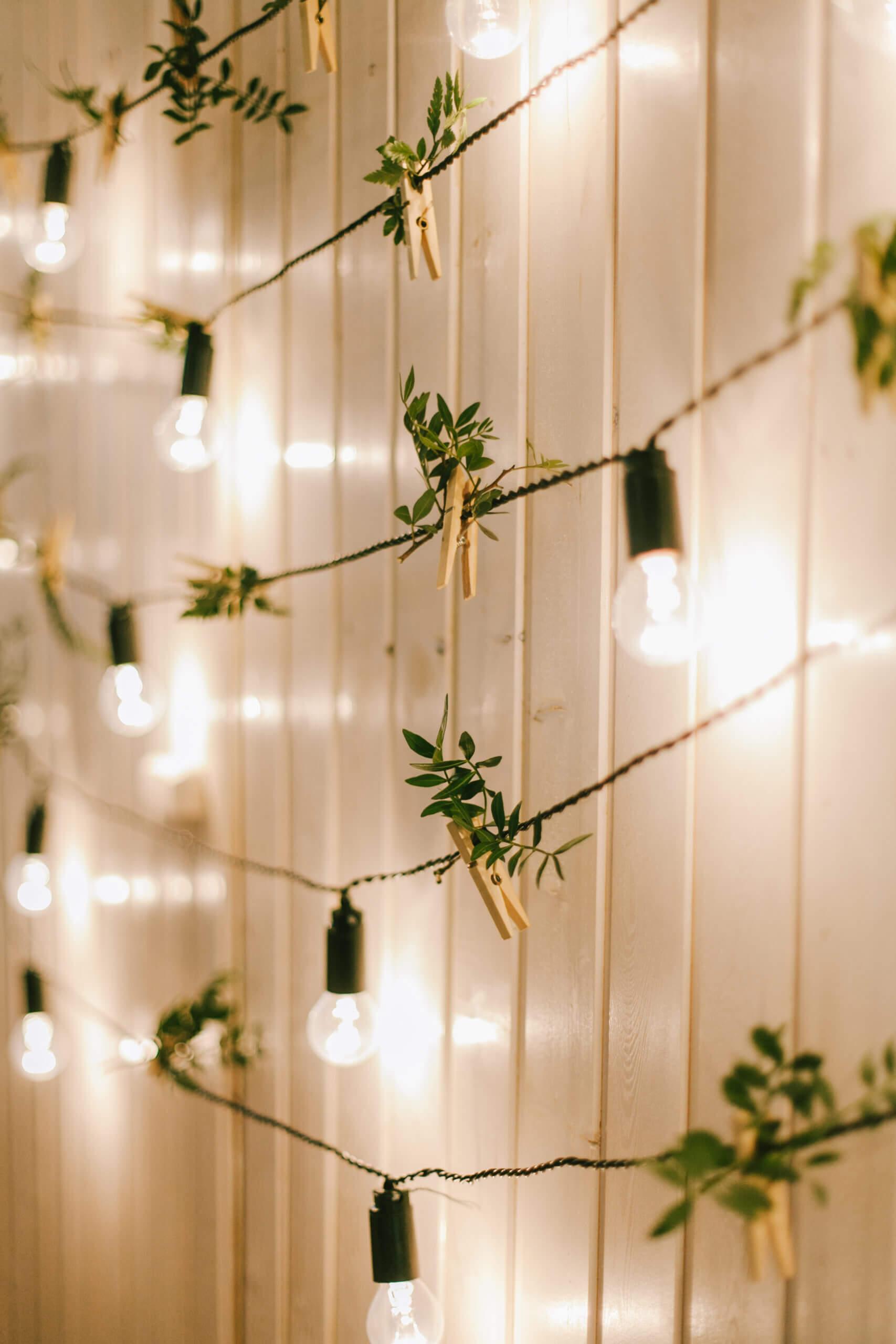 Wanddekoration Hochzeit